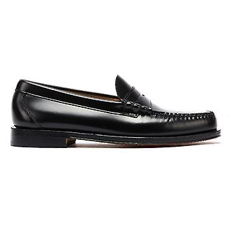 G.H. Bass & Co. Weejuns Heritage Larson Mens Black Penny Loafers