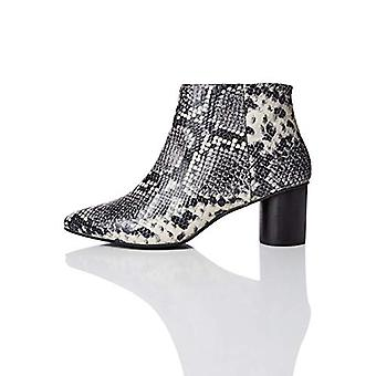 Marque - trouver. Women's Leather Round Heel Point