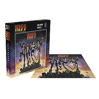 Kiss Pussel Destroyer Skivomslag nya officiella 500 Piece