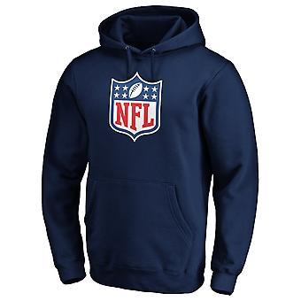 NFL SHIELD American Football Fan Hoody Iconic navy