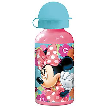 MINNIE MOUSE Kids water bottle in aluminum pink 400 ml