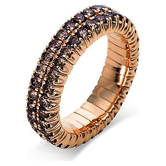 Diamond Ring Ring - 18K 750/- Red Gold - 1.84 ct. - 1N705R852 - Ring width: 52