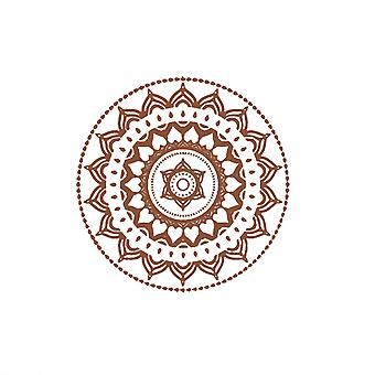 PVC Mandala Flower Wall Sticker