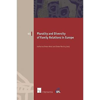 Plurality and Diversity of Family Relations in Europe by Katharina Boele Woelki & Dieter Martiny