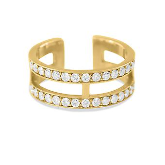 Ring Darling 18K Gold and Diamonds - Yellow Gold