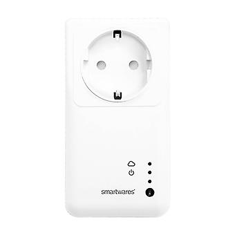 Smartwares SH5SETGW  Intelligent WiFi Plug With Remote Control (Pack Of 3)
