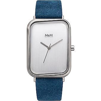 M-amp;M Allemagne M11947-622 Square line Ladies Watch