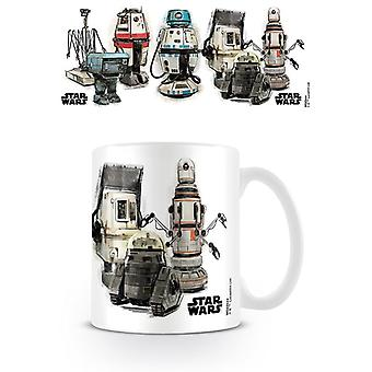 Solo A Star Wars Story Droids Mugg
