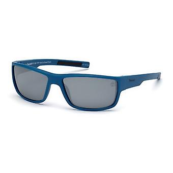 """משקפי שמש יוניסקס טימברלנד TB9153-6391D כחול (63 מ""""מ) (ø 63 מ""""מ)"""