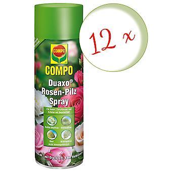 Sparset: 12 x COMPO Duaxo® Roses Mushroom-Free Spray, 400 ml