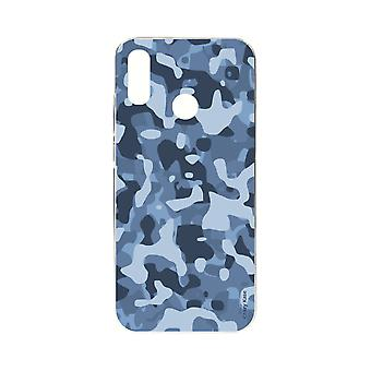 Romp voor Xiaomi Redmi Note 7 Soft Blue Militaire Camouflage