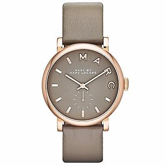 Marc Jacobs MBM1266 Baker Grey Leather Ladies Watch