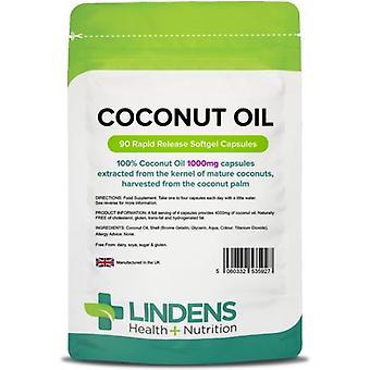 Lindens Kokosolie 1000mg Caps 90 (5927)
