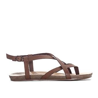 Women's Blowfish Malibu Golden Sandals in Brown