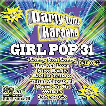 Various Artist - Party Tyme Karaoke: Girl Pop 31 / Var [CD] USA import