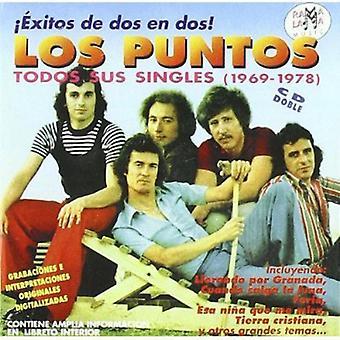 Los Puntos - Todos Sus Singles 1969-1978 [CD] USA import
