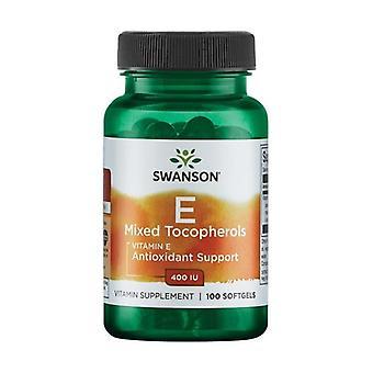 Vitamine E Gemengde Tocopherolen 400 IE 100 softgels