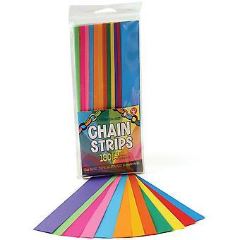 """Mighty Bright Chain Strips 1""""X8"""" 180/Pkg-Verschiedene Farben"""
