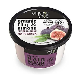Organic Fig and Almond Express Shine Hair Mask 250 ml