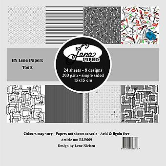 By Lene Tools 6x6 Inch Paper Pack