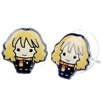 Harry Potter Silver Plated Earrings Chibi Hermione