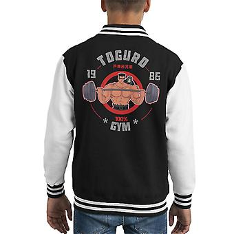 Yngre Toguro gym YuYu Hakusho Kid ' s Varsity jakke
