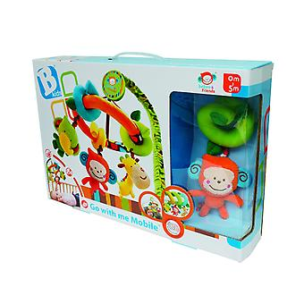 Baby Toys - B Kids - Go With Me Mobile Games Kids New 003796