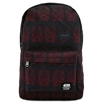 Loungefly X Star Wars Red Sixth Trooper Nylon Backpack