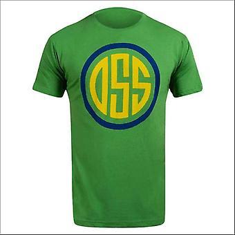 Hayabusa oss t-shirt - greeen - size small