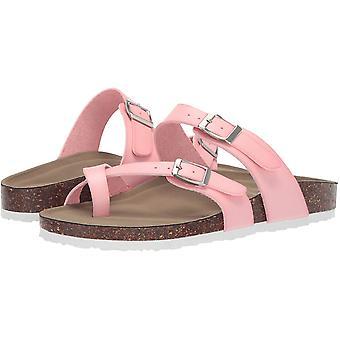 Madden Girl Women's Shoes Bryceee Open Toe Casual Slide Sandals