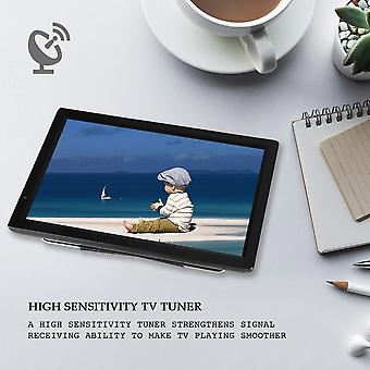 Uhf/vhfatv/ 14inch Portabil Digital Tv High Sensitivity Tuner Tv Program de înregistrare 1080p