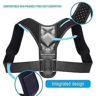 Adjustable Back Posture Corrector Clavicle Spine Back Shoulder Lumbar Brace Support Belt Posture Correction