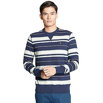 Farah Noble Sweatshirt - Yale Navy