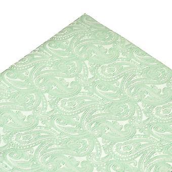 Bånd Planet Salvie Grøn Paisley Mønster Pocket Square lommetørklæde