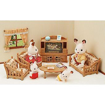 Sylvanian Families Comfy Living Room Set Toy
