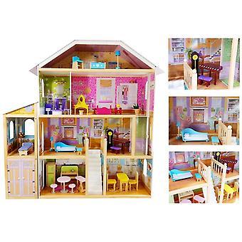 Großes Puppenhaus Villa Daria 123 cm