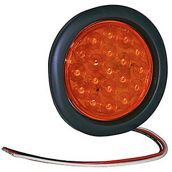 "Buyers SL40AR 4"" Round Amber Strobe Light"