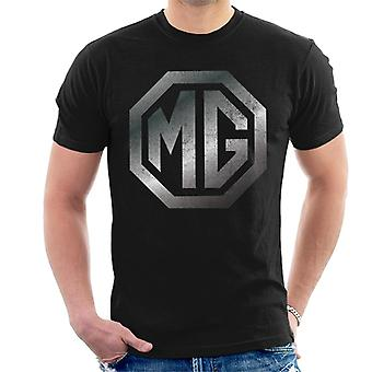 MG Chrome Logo British Motor Heritage Men's T-Shirt