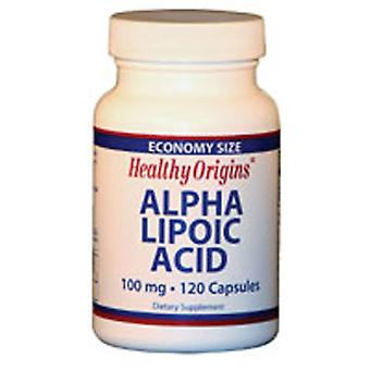 Healthy Origins Alpha Lipoic Acid, 100MG, 120 Caps