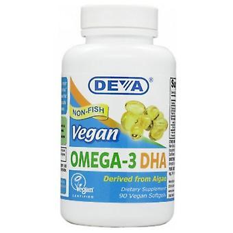Deva Vegan Vitamins Omega-3 DHA, 90 SGEL