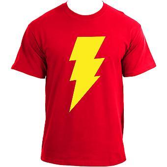 The Big Bang Theory Sheldon Lightning Bolt Inspired T-Shirt