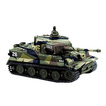 1:72 Rc Mini Tank- Tiger Battle 1/72 High Simulated Remote Radio Control Panzer