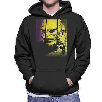 The Creature From The Black Lagoon Head Men's Hooded Sweatshirt
