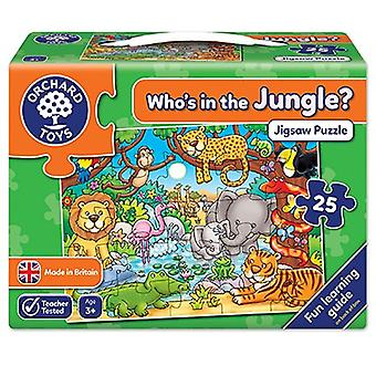 Orchard Toys Who's in the Jungle? Puzzle