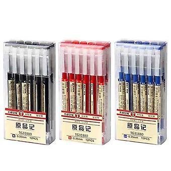 Ink Gel Pens Set, Refills Gel - School Stationery