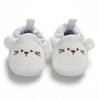 Cute Newborn/boys Soft Sole Crib Anti-slip Shoes Sneaker
