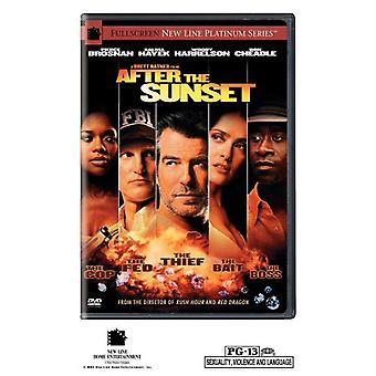 After the Sunset [DVD] USA import