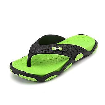Men Massage Slippers, Summer New Flip Flops Fashion Beach Lightweight Shoes