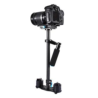 PULUZ 38.5-61cm Carbon Fiber Handheld Stabilizer for DSLR & DV Digital Video & Cameras, Capacity Range 0.5-3kg(Black)