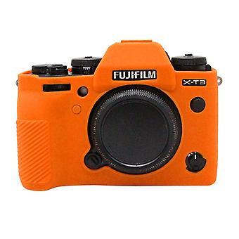 PULUZ Soft Silicone Protective Case for FUJIFILM XT3(Orange)